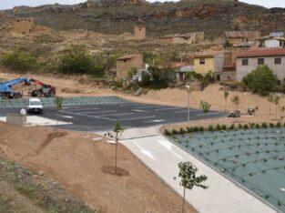 Área autocaravana en Cervera del Río Alhama «Cervera del Río Alhama» en, La Rioja