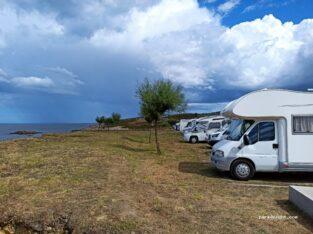 Área autocaravana en San Ciprián «Área de San Ciprián» en, Lugo