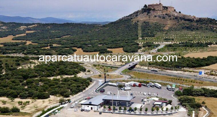 Área autocaravana en Barbastro [A-62] «Área de Servicios A-62» en, Huesca