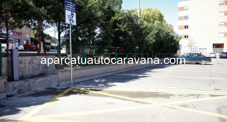 Área autocaravana en Tudela «Área de Tudela» en, Navarra