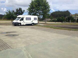 Área autocaravana en Vegadeo «Área de Vegadeo» en, Asturias