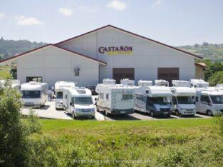 Área autocaravana en Quintueles «Área del Llagar Castañón» en, Asturias