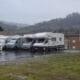 Área autocaravana en Infiesto «Área de Piloña» en, Asturias