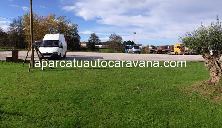 Área autocaravana en Colombres «Área de Casa Junco» en, Asturias