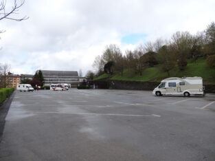 Área autocaravana en Lugo «Área de Lugo» en, Lugo