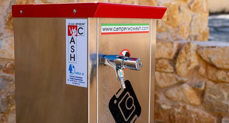Área autocaravana en Alcorisa «Área de Alcorisa» en, Teruel