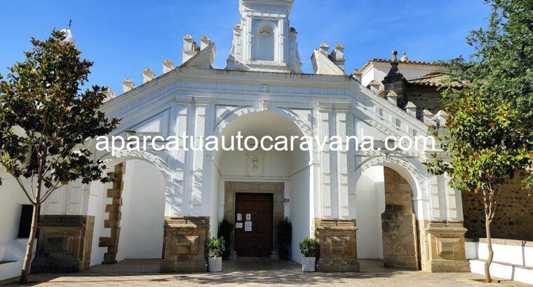 Área autocaravana en Cabeza del Buey «Santuario nuestra señora de Belén» en, Badajoz