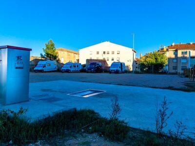 Área autocaravana en Alcañiz «Área de Alcañiz» en, Teruel