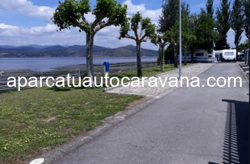 Área autocaravana en Vilagarcía de Arousa «Área de Río Ulla» en, Pontevedra