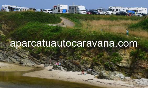Área autocaravana en Benquerencia – Barreiros «Área de Benquerencia Playa» en, Lugo