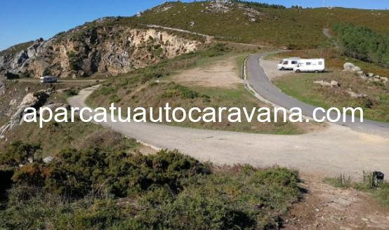 Área autocaravana en Fisterra [Faro] «Parking de El Faro» en, A Coruña