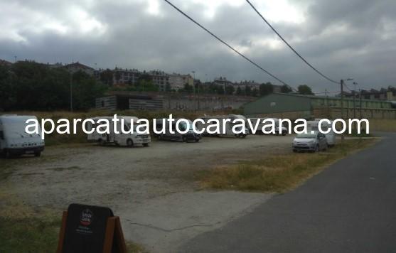 Área autocaravana en Ourense [A Chavasqueira] «Parking de A Chavasqueira» en, Ourense
