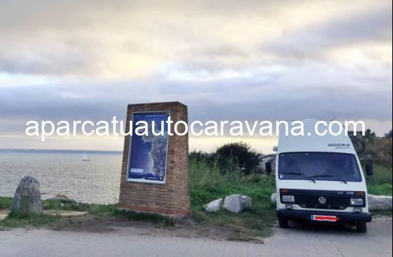 Área autocaravana en Bueu «Parking del Cabo Udra» en, Pontevedra