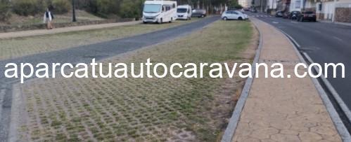 Área autocaravana en Cedeira «Parking del Puerto» en, A Coruña