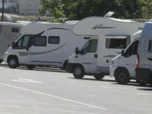 Área autocaravana en Vigo [La Guía] «Parking de La Guía» en, Pontevedra