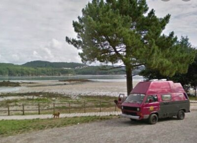 Área autocaravana en Noia «Parking del Paseo Marítimo» en, A Coruña
