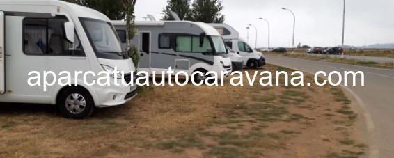 Área autocaravana en Cambados «Parking de Cambados» en, Pontevedra