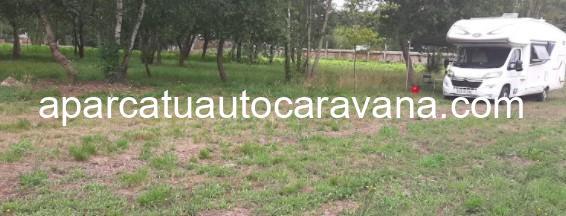 Área autocaravana en A Estrada [A Praíña] «Parking de la Playa Fluvial A Praíña» en, Pontevedra