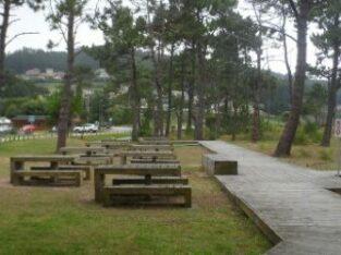 Área autocaravana en Elgeta «Parking para Acs. de Asentzio» en, Gipuzkoa