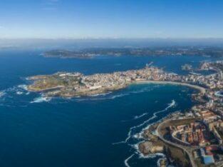 Área autocaravana en Betanzos «Área de Betanzos» en, A Coruña