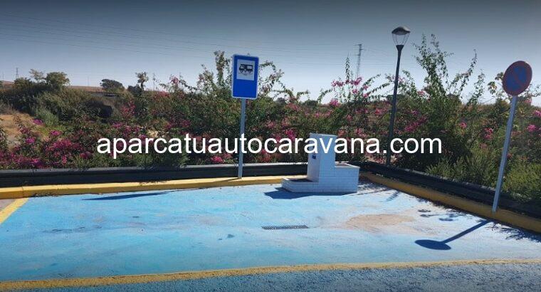 Área autocaravana en Gibraleón «Área de La Lobera» en, Huelva