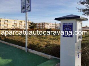 Área autocaravana en Muxía «Área de Muxía» en, A Coruña