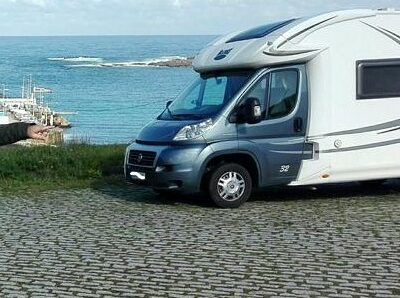 Área autocaravana en A Coruña «Área de O Portiño» en, A Coruña