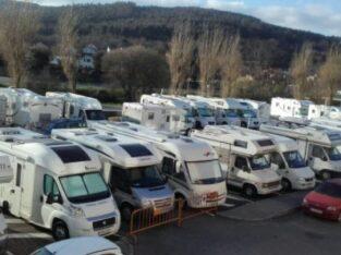 Área autocaravana en Padrón «Área de Padrón» en, A Coruña