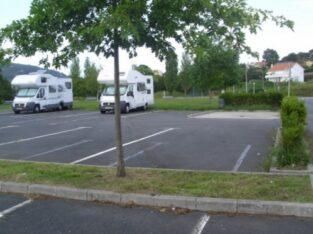 Área autocaravana en Ferrol «Área de Ferrol» en, A Coruña