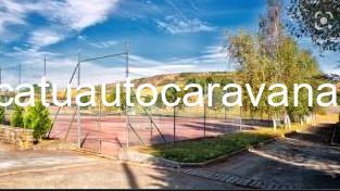 Área autocaravana en Touro «Area de Praza do Luar» en, A Coruña