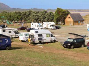 Área autocaravana en As Somozas «Área de O Carballo» en, A Coruña