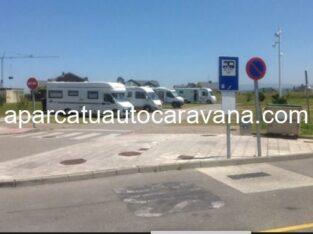 Área autocaravana en Tapia de Casariego «Área de Playa Grande» en, Asturias