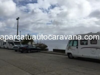 Área autocaravana en Noia [Eroski] «Área de Eroski-Noia» en, A Coruña