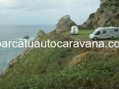 Área autocaravana en Fisterra «Área de O Campo» en, A Coruña
