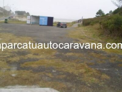 Área autocaravana en O Vicedo [Área Grande] «Área de Acs. Rest. Área Grande» en, Lugo