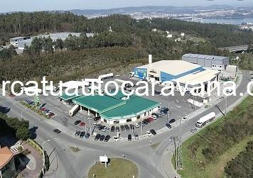 Área autocaravana en Fene «Área de Ortegal Oil» en, A Coruña