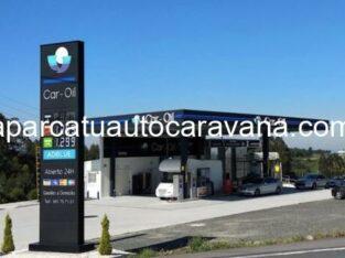 Área autocaravana en Vilasantar «Área de Car-Oil» en, A Coruña