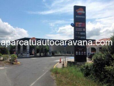 Área autocaravana en Miño «Área de servicios Miño» en, A Coruña