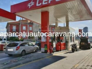Área autocaravana en Lapido «Área de Los Ángeles Gas» en, A Coruña