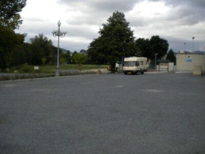 Área autocaravana en Sarria «Área de Sarria» en, Lugo