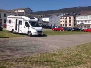 Área autocaravana en Mondoñedo «Area de Mondoñedo» en, Lugo