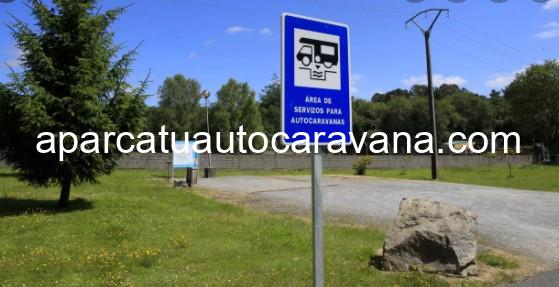 Área autocaravana en Baralla «Área de Baralla» en, Lugo