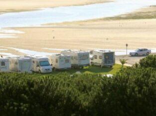 Área autocaravana en Foz «Área de Foz» en, Lugo