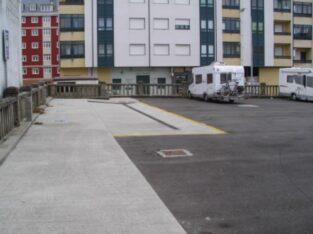 Área autocaravana en Vilalba «Area de Vilalba» en, Lugo