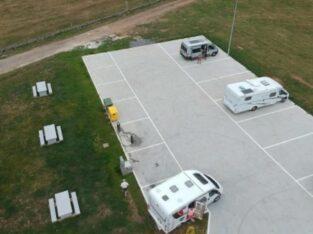 Área autocaravana en Meira «Área de Meira» en, Lugo