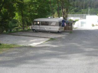 Área autocaravana en Chantada «Área de O Sangoñedo» en, Lugo