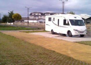 Área autocaravana en Castro de Rei «Área de Castro de Rei» en, Lugo