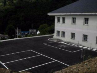 Área autocaravana en As Nogais «Area de As Nogais» en, Lugo