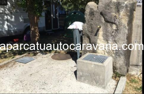 Área autocaravana en Forcarei «Area de A Madalena» en, Pontevedra