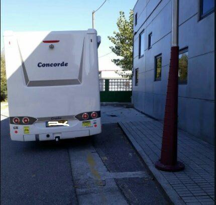Área autocaravana en Redondela «Area de Redondela» en, Pontevedra